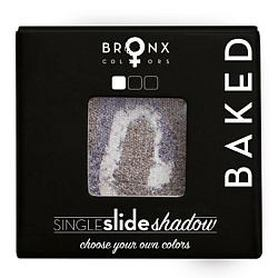 BRONX COLORS Тени для век Single Slide Baked Shadow MERCURY, 2 г Bronx Colors