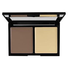 BRONX COLORS Палетка для контуринга Contouring 2go CARAMEL / SHIMMER BEIGE, 8 г Bronx Colors
