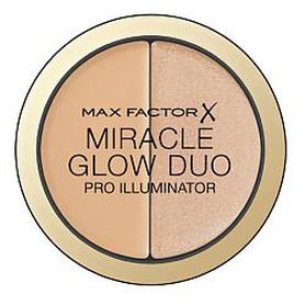 MAX FACTOR Хайлайтер MIRACLE GLOW DUO 10 LIGHT Max Factor