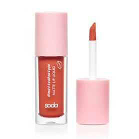 SODA MATTE LIP LIQUID #matteaboutyou МАТОВАЯ ПОМАДА 004 WHAT A GIRL WANTS SODA