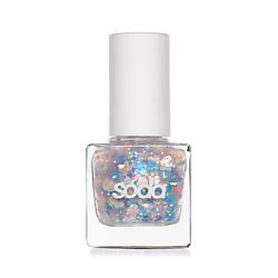 SODA GLITZY NAILS #althatglitters ЛАК ДЛЯ НОГТЕЙ 001 CRAZY CONFETTI SODA