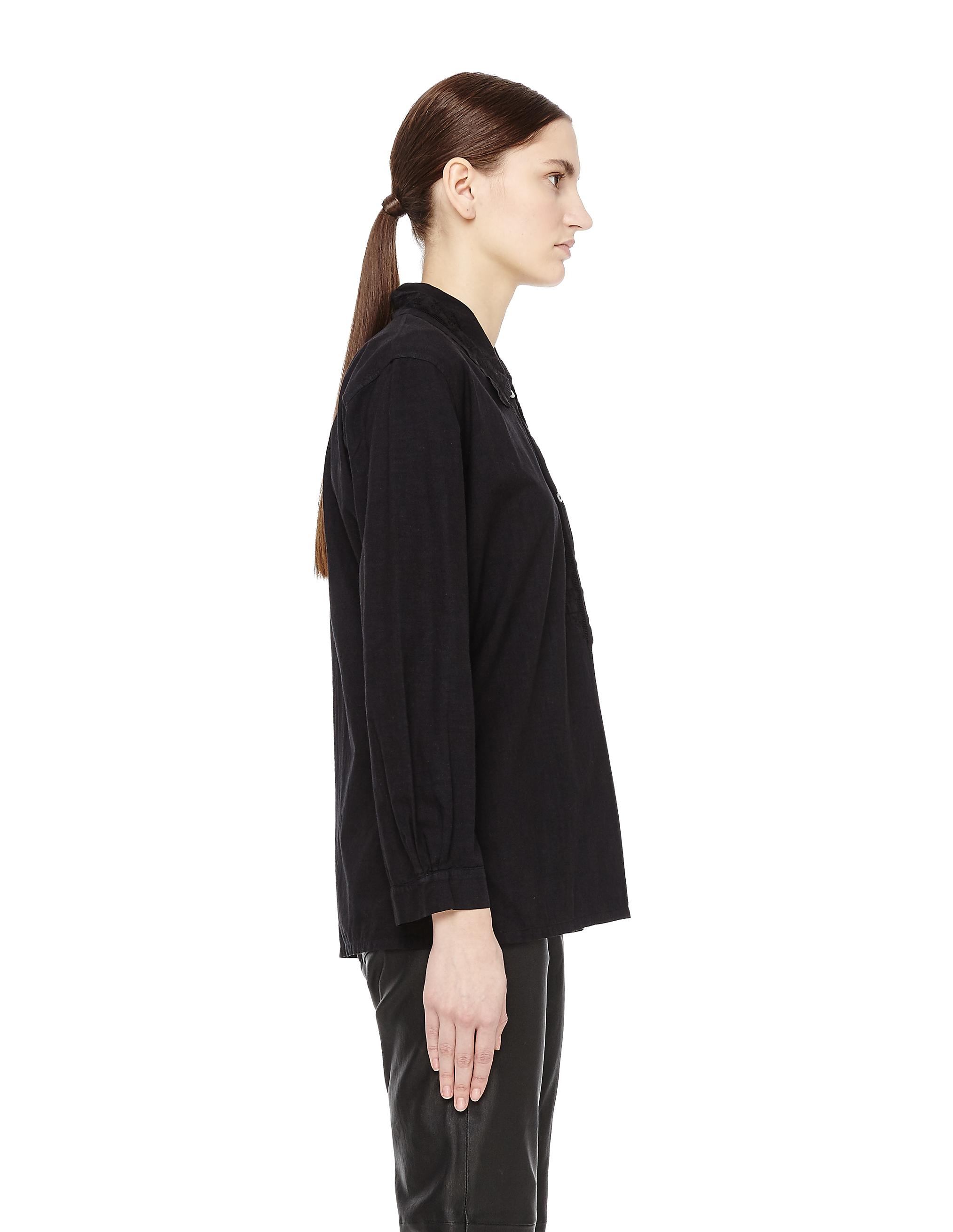 7a7fb168324 Хлопковая блузка с кружевом Blackyoto Remi-2 купить за 34700 рублей ...