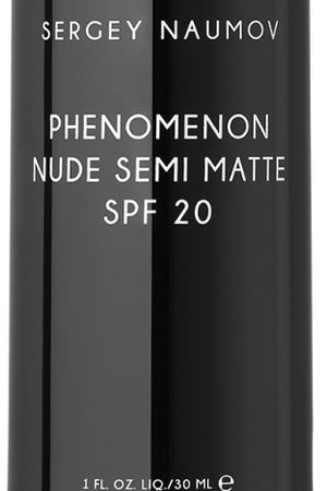 Тональное средство PHENOMENON NUDE SEMI MATTE SPF 20 – T20, 30 ml