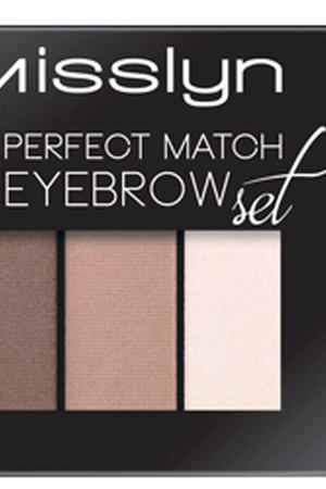 MISSLYN Набор для бровей Perfect match eyebrow set № 8