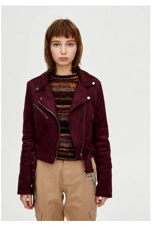2d8ed4350bd Каталог женских кожаных курток Pull Bear (Пул энд бир) от 2799 руб.