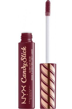 NYX PROFESSIONAL MAKEUP Насыщенный блеск для губ Candy Slick Glowy Lip Color - Cherry Cola 08