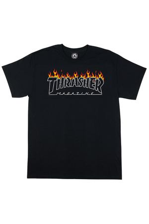 Футболка Thrasher Scorched Outline