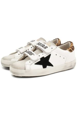 Кожаные кеды Superstar Golden Goose Deluxe Brand