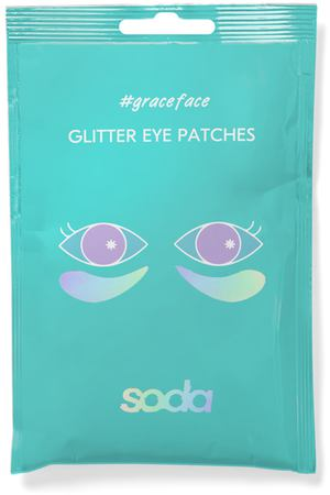 SODA Гидрогелевые патчи для глаз с блестками GLITTER EYE PATCHES #graceface