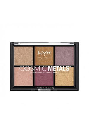 NYX PROFESSIONAL MAKEUP Палетка теней Cosmic Metals Shadow Palette - 01