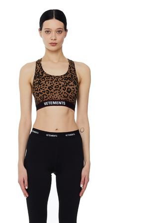 Leopard Top Vetements