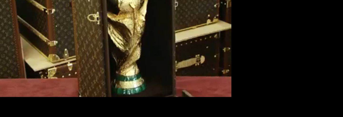 Making of Louis Vuitton World Cup Trophy Case