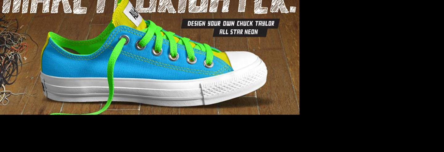 Converse: design your own Chuck Taylor