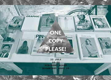 One copy please! Discount Night