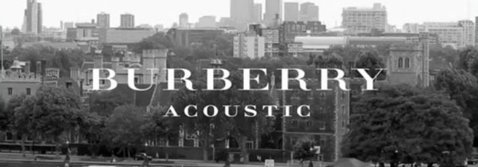 Burberry Acoustic Sessions