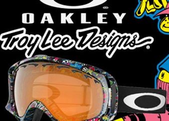 Маски Oakley limited edition  в магазинах B-shop и Траектория
