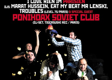 I Love Rien: dj-set Poni Hoax Soviet Club