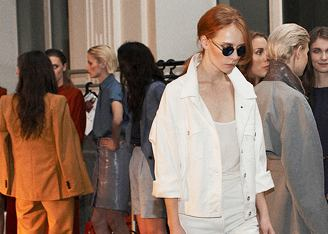 Backstage. Trussardi 1911 на Elle Fashion Days