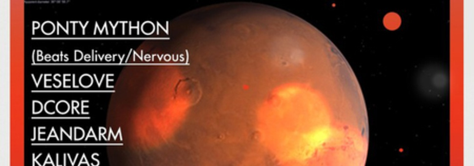 Mars in Space with Ponty Mython & Kalivas