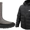 Мужская куртка Ice-650 и женские adiValenki компании adidas