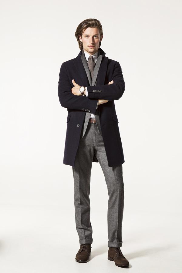 Massimo Dutti. Мужская коллекция осень 2012