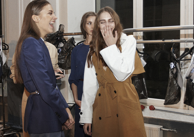Backstage. Trussardi на Elle Fashion Days