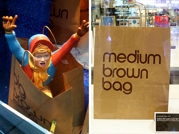 Универмаги мира. Bloomingdales. Brown Bag