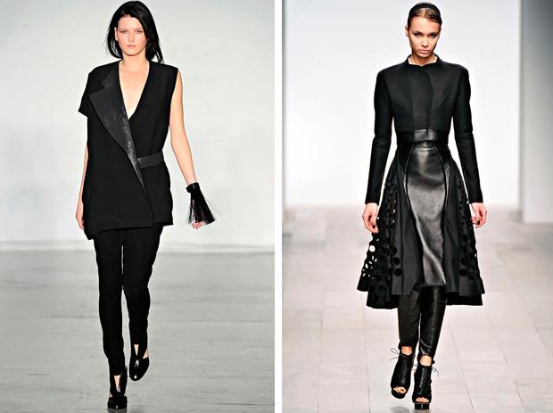 Тенденции моды 2012: черный цвет