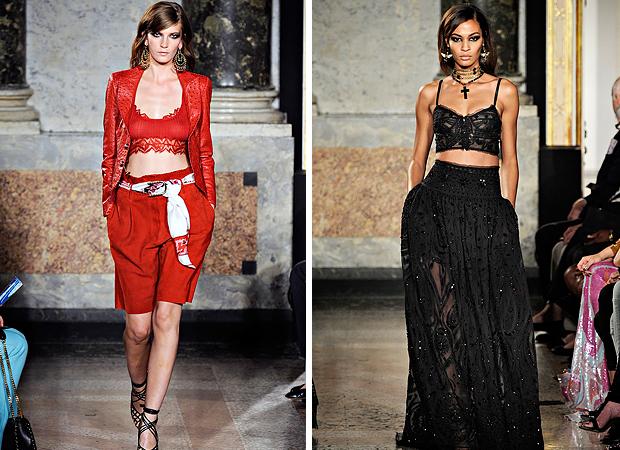 Тенденции моды 2012: половинка моя
