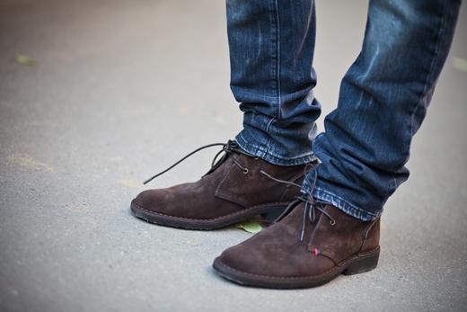 Туфли под джинсы