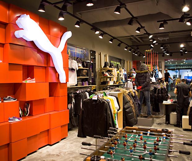 807efdcc09e2 В Санкт-Петербурге открылся новый магазин Puma - www.be-in.ru