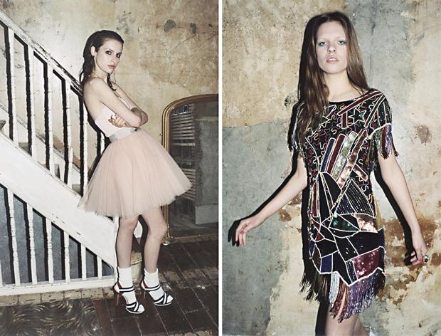 платьев в стиле glam-rock.