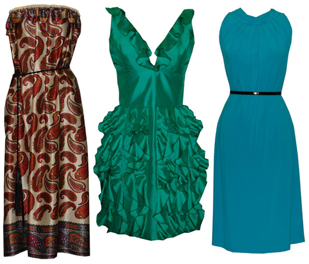 платья в моде уже несколько сезоно