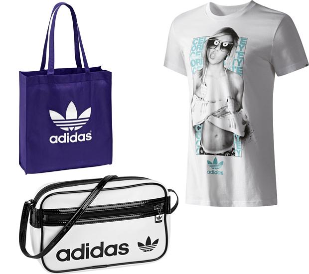 Сумка спортивная синяя Adidas Originals сезона 2011 - где.