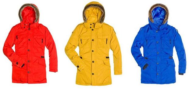 Зима 2012 - Зимние куртки кожаные.  Верхняя мужская одежда.