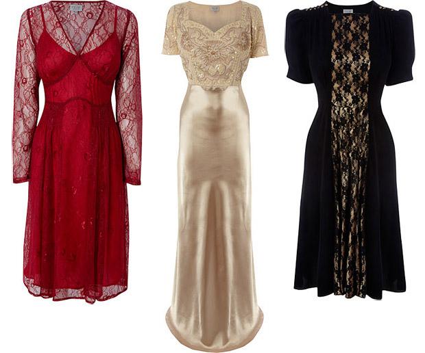 Фото вечерных, новогодных платьей.  Эскизы вечерных платья.