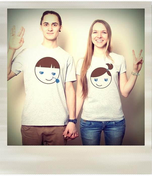 артишок печать на футболках