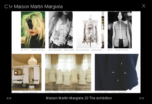 Выставка Maison Martin Margiela (20) The Exhibition. Весна-лето 2010