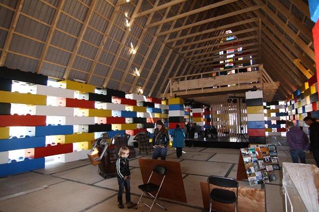 Церковь из LEGO в Нидерландах