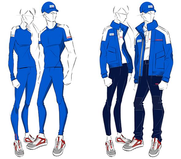 Prada создаст форму для итальянской олимпийской сборной ...