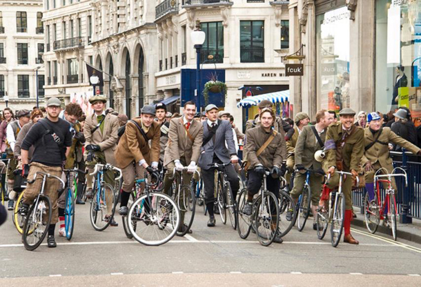 tweed run в санкт-петебурге