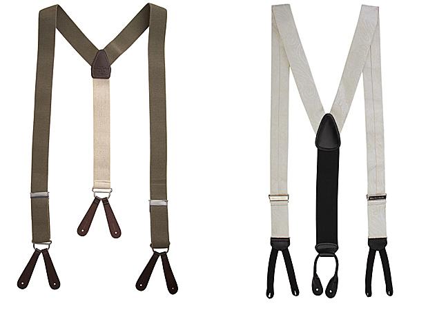 Как сделать самому подтяжки для брюк