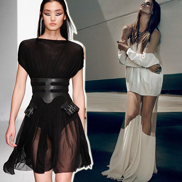 Прозрачные платья москва