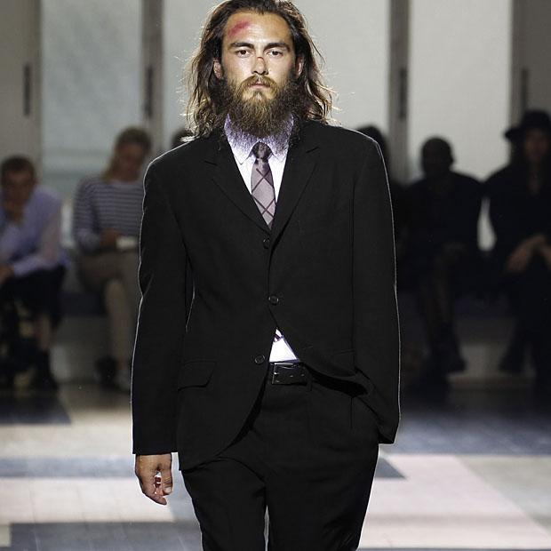 Коллекция мужской одежды Yohji Yamamoto  уличные денди - www.be-in.ru b2dcff8e389