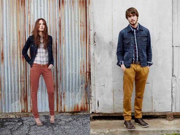 фото джинсы цветные мужские