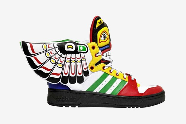 сникеры Totem adidas Originals by Jeremy Scott