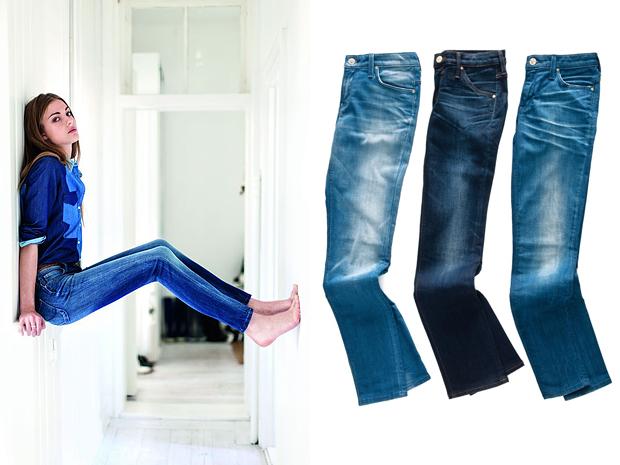 Как сделать так чтобы колени на джинсах не вытягивались