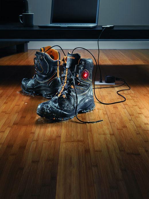 Электрический ботинок от Columbia. Специально для русской зимы.