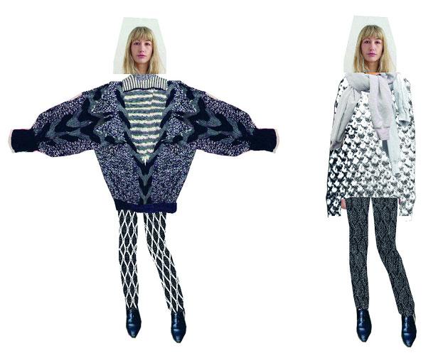 Новая книга эскизов известных дизайнеров. Fashion