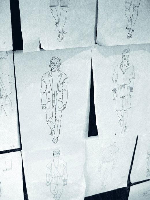 Описание: Дизайнер одежды Анна Попова Мои эскизы